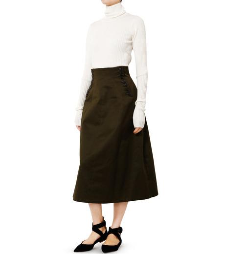 LE CIEL BLEU(ルシェルブルー)のコルセットスカート-KHAKI(スカート/skirt)-18A67528 詳細画像3