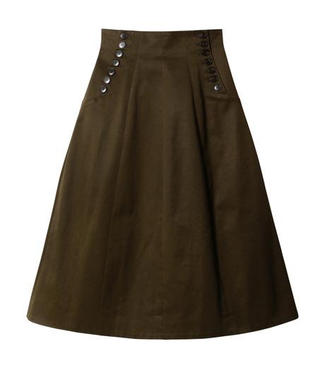 LE CIEL BLEU(ルシェルブルー)のコルセットスカート-KHAKI(スカート/skirt)-18A67528 詳細画像4