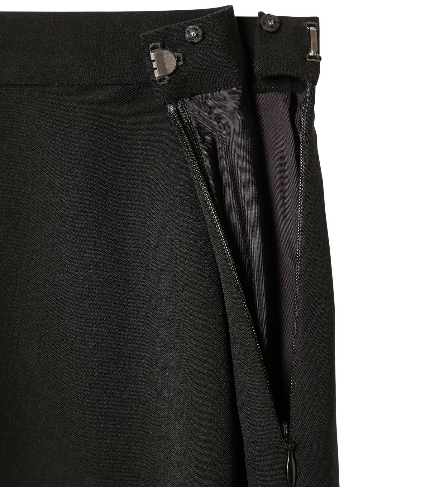 LE CIEL BLEU(ルシェルブルー)のアシンメトリーフリルヘムスカート-BLACK(スカート/skirt)-18A67636 拡大詳細画像5