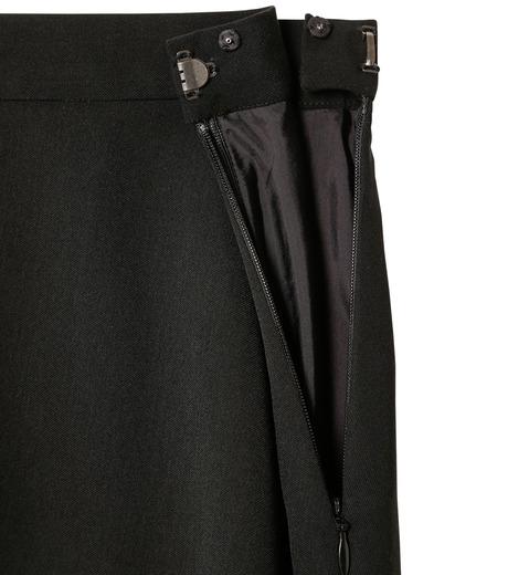 LE CIEL BLEU(ルシェルブルー)のアシンメトリーフリルヘムスカート-BLACK(スカート/skirt)-18A67636 詳細画像5