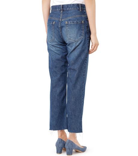 LE CIEL BLEU(ルシェルブルー)のストレートデニムパンツ-INDIGO(パンツ/pants)-18A68202 詳細画像2