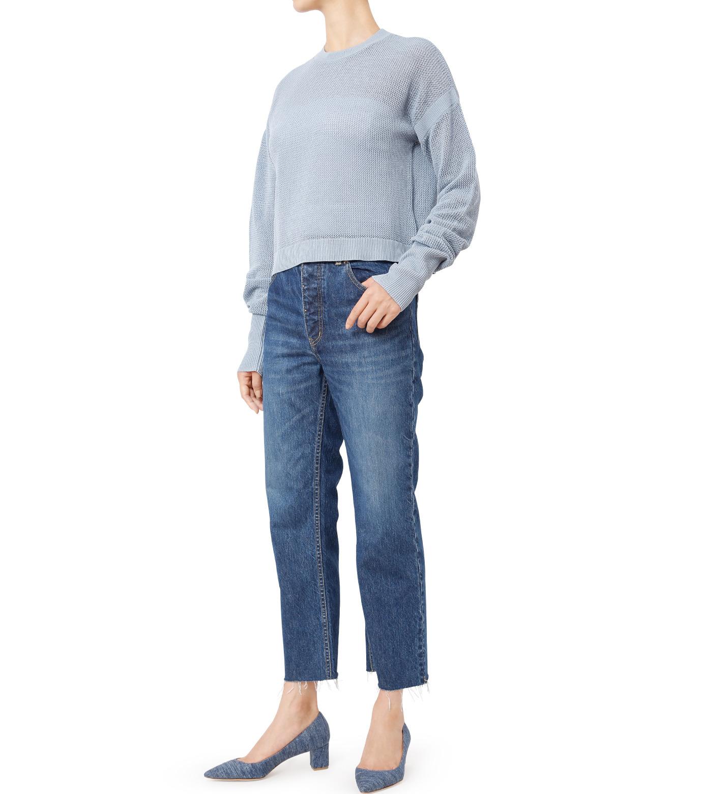 LE CIEL BLEU(ルシェルブルー)のストレートデニムパンツ-INDIGO(パンツ/pants)-18A68202 拡大詳細画像3