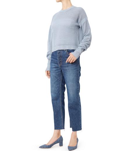 LE CIEL BLEU(ルシェルブルー)のストレートデニムパンツ-INDIGO(パンツ/pants)-18A68202 詳細画像3
