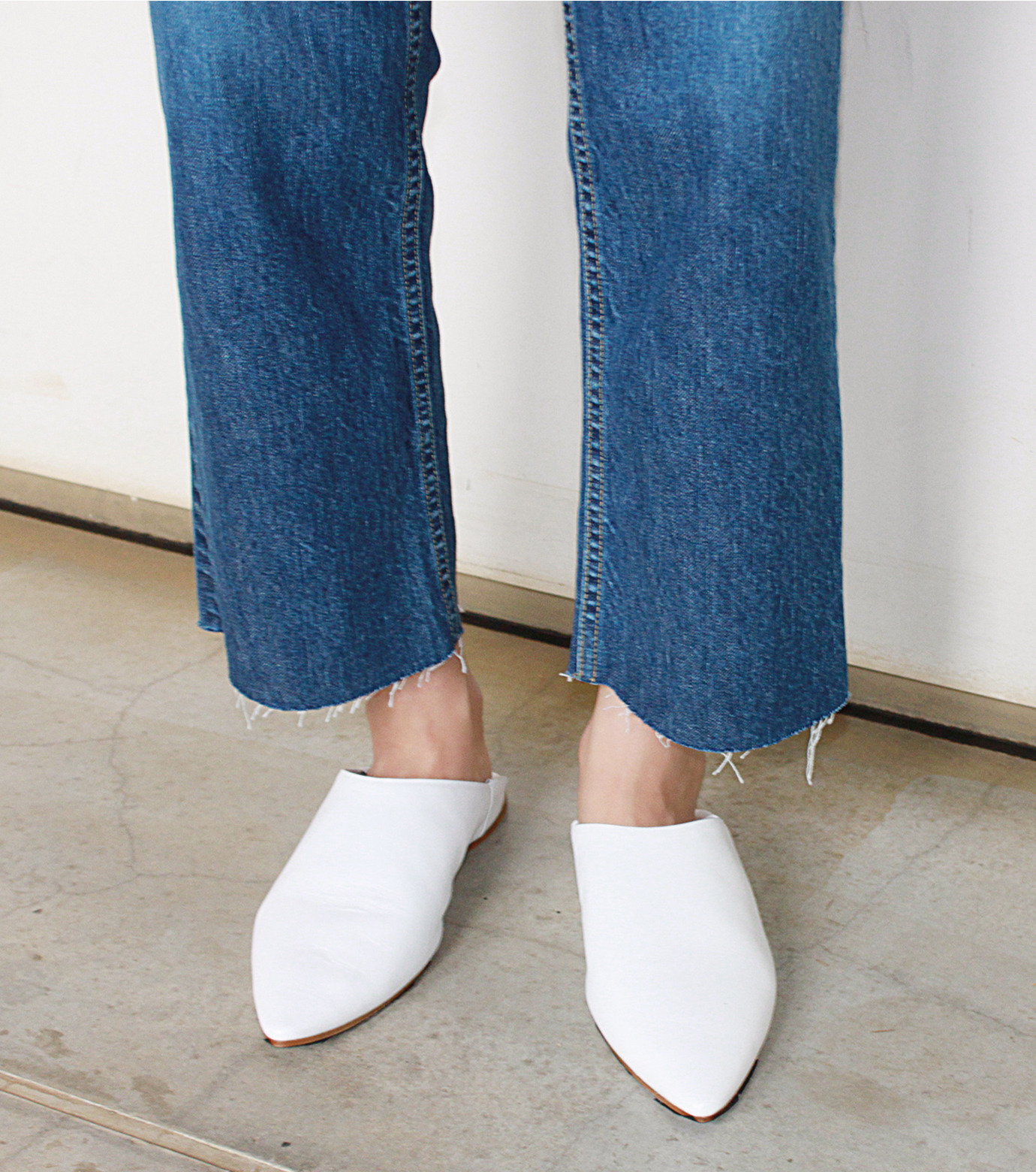 LE CIEL BLEU(ルシェルブルー)のストレートデニムパンツ-INDIGO(パンツ/pants)-18A68202 拡大詳細画像5