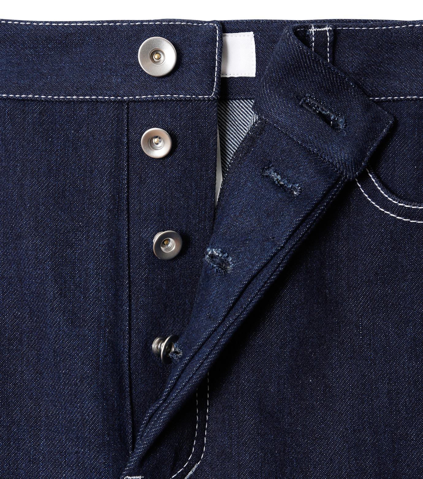 LE CIEL BLEU(ルシェルブルー)のデニムフォールドバックパンツ-INDIGO(パンツ/pants)-18A68304 拡大詳細画像5