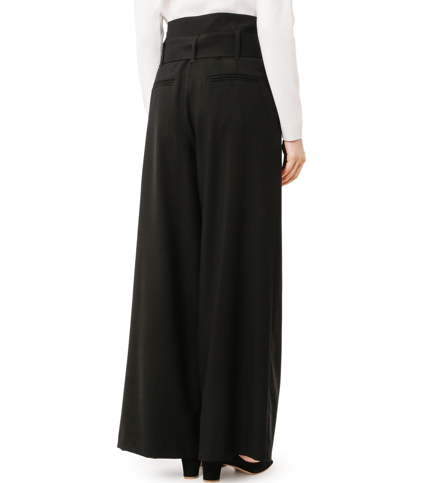 LE CIEL BLEU(ルシェルブルー)のベルトハイウエストパンツ-BLACK(パンツ/pants)-18A68408 拡大詳細画像2