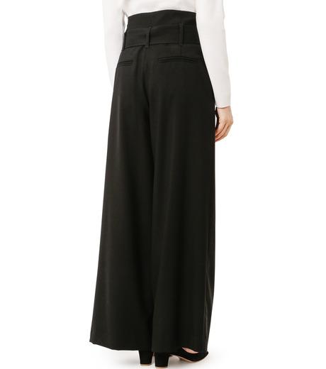 LE CIEL BLEU(ルシェルブルー)のベルトハイウエストパンツ-BLACK(パンツ/pants)-18A68408 詳細画像2