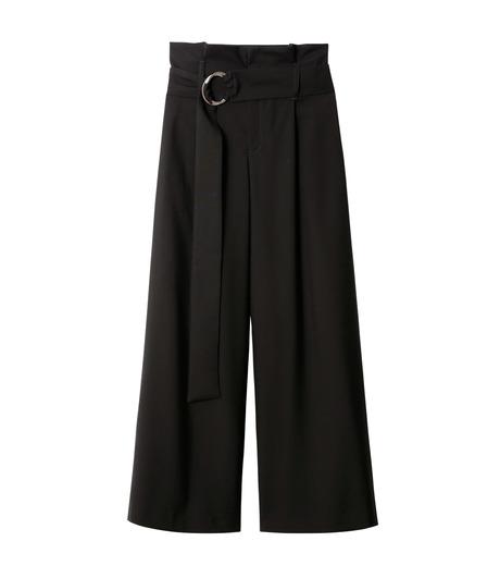 LE CIEL BLEU(ルシェルブルー)のベルトハイウエストパンツ-BLACK(パンツ/pants)-18A68408 詳細画像4