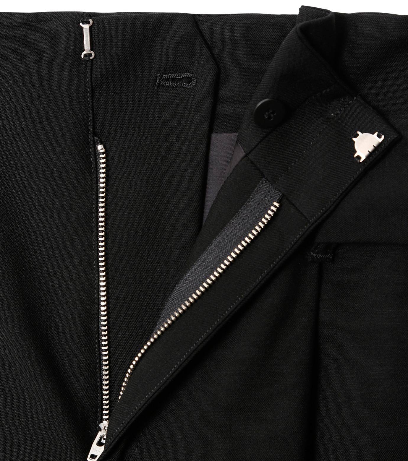 LE CIEL BLEU(ルシェルブルー)のベルトハイウエストパンツ-BLACK(パンツ/pants)-18A68408 拡大詳細画像5