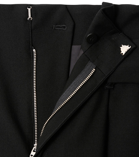 LE CIEL BLEU(ルシェルブルー)のベルトハイウエストパンツ-BLACK(パンツ/pants)-18A68408 詳細画像5