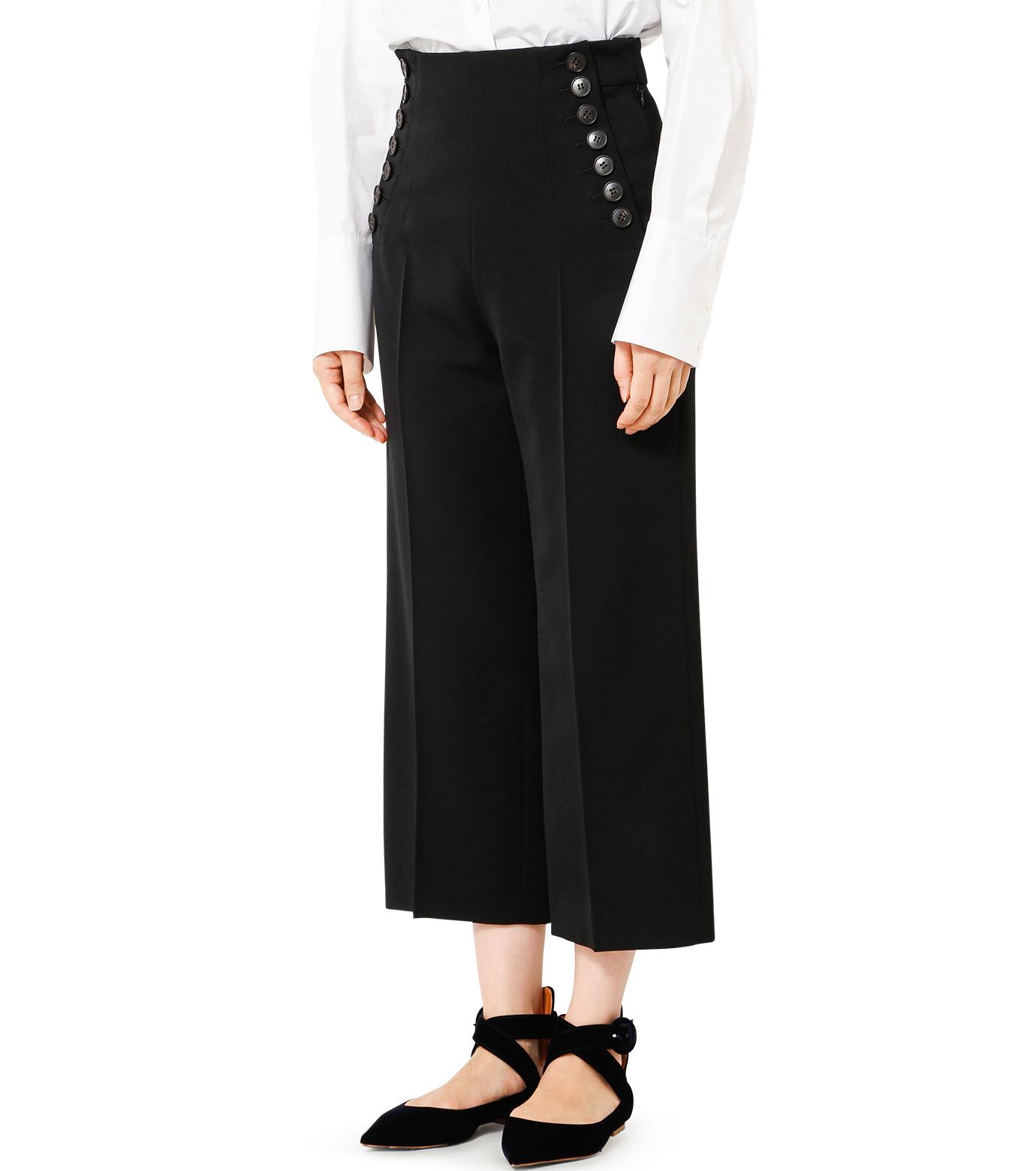 LE CIEL BLEU(ルシェルブルー)のタキシードコルセットパンツ-BLACK(パンツ/pants)-18A68513 拡大詳細画像1