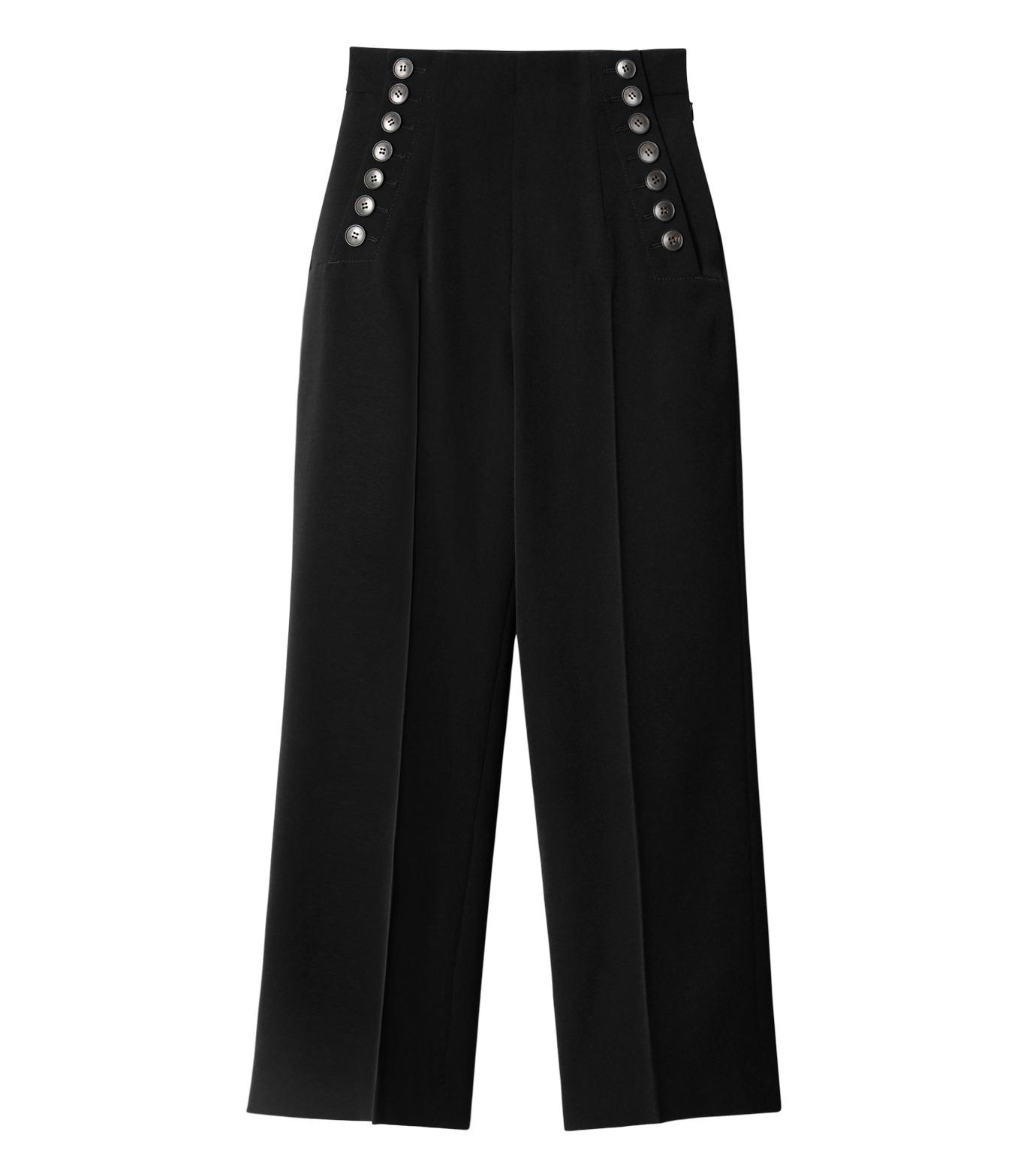 LE CIEL BLEU(ルシェルブルー)のタキシードコルセットパンツ-BLACK(パンツ/pants)-18A68513 拡大詳細画像4