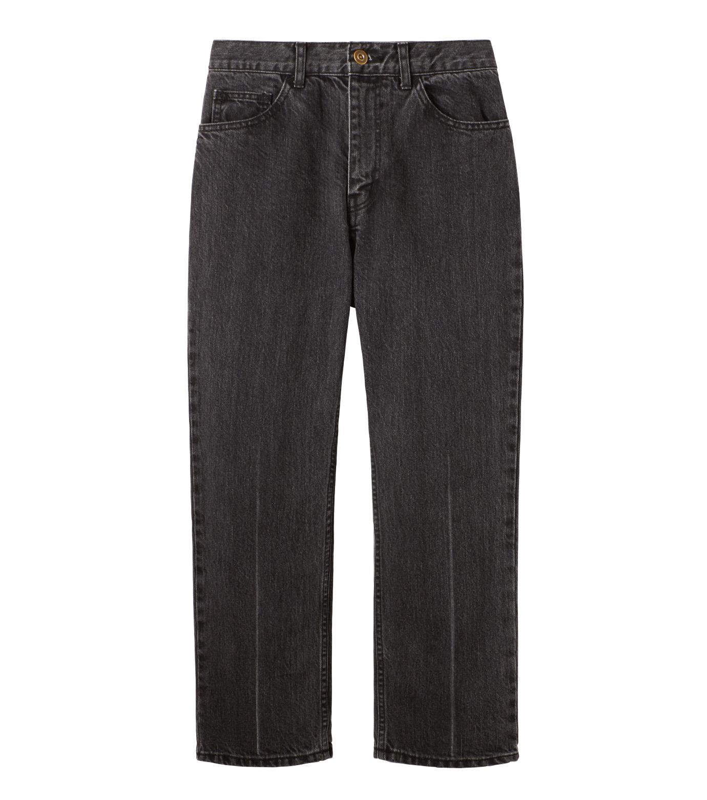 LE CIEL BLEU(ルシェルブルー)のセンタープレスデニムパンツ-BLACK(パンツ/pants)-18A68515 拡大詳細画像4