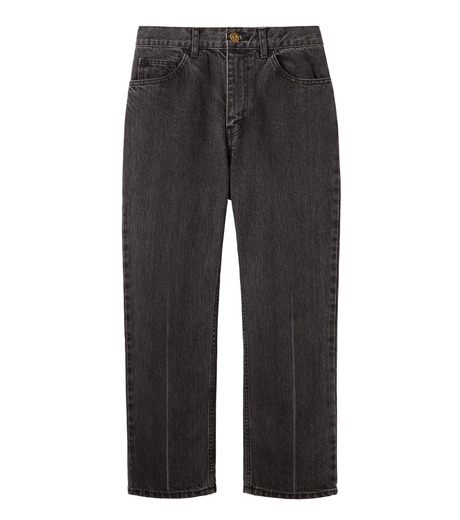 LE CIEL BLEU(ルシェルブルー)のセンタープレスデニムパンツ-BLACK(パンツ/pants)-18A68515 詳細画像4