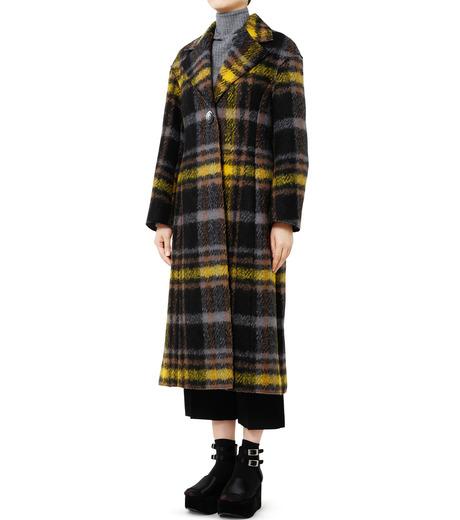 LE CIEL BLEU(ルシェルブルー)のハードフェルティングチェスターコート-YELLOW(コート/coat)-18A69403 詳細画像1