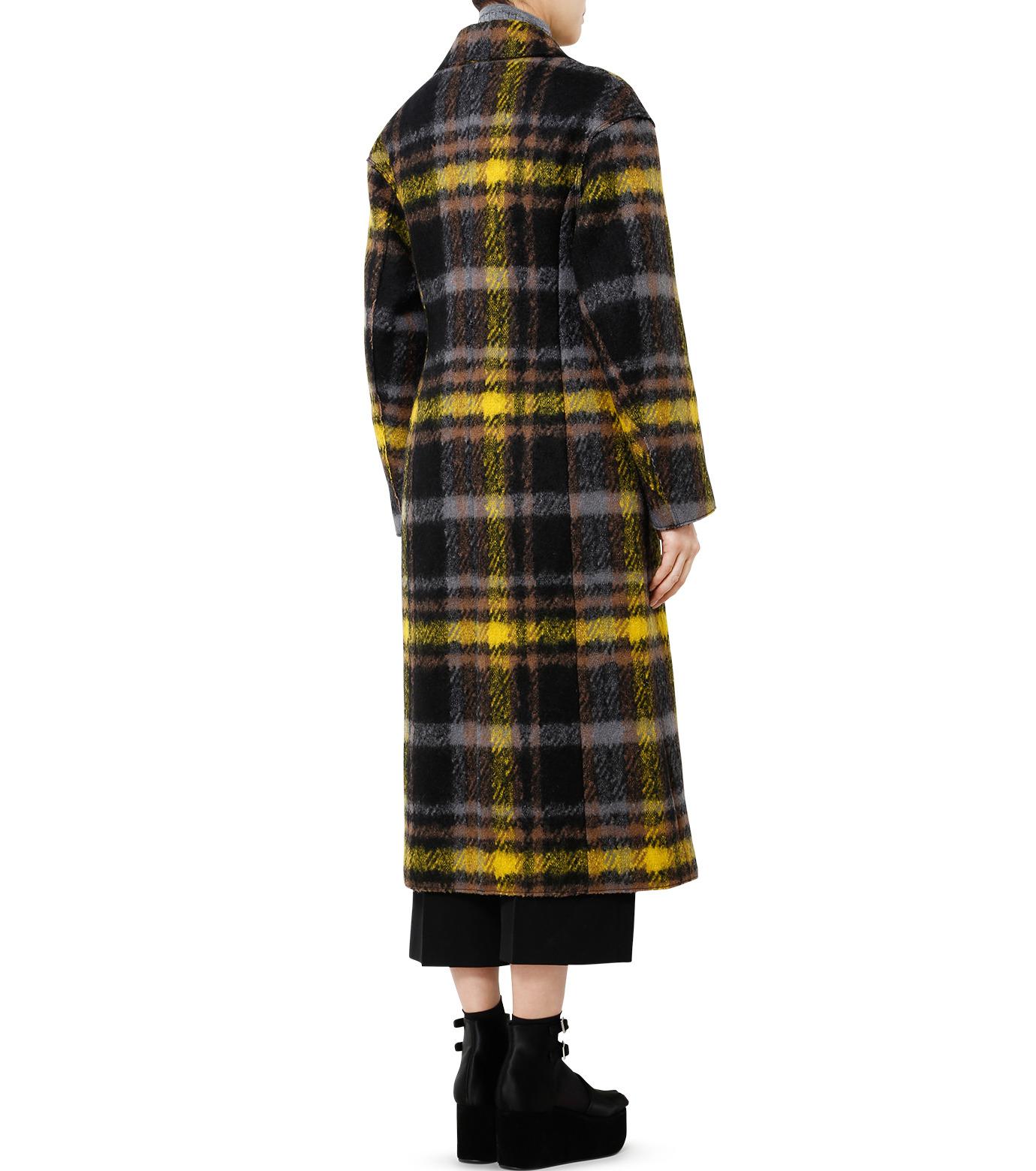 LE CIEL BLEU(ルシェルブルー)のハードフェルティングチェスターコート-YELLOW(コート/coat)-18A69403 拡大詳細画像2