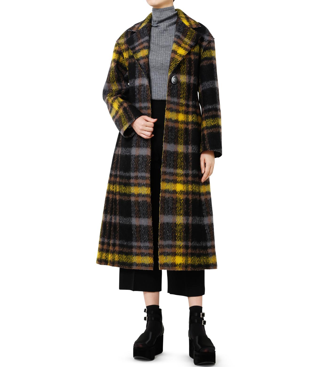 LE CIEL BLEU(ルシェルブルー)のハードフェルティングチェスターコート-YELLOW(コート/coat)-18A69403 拡大詳細画像3