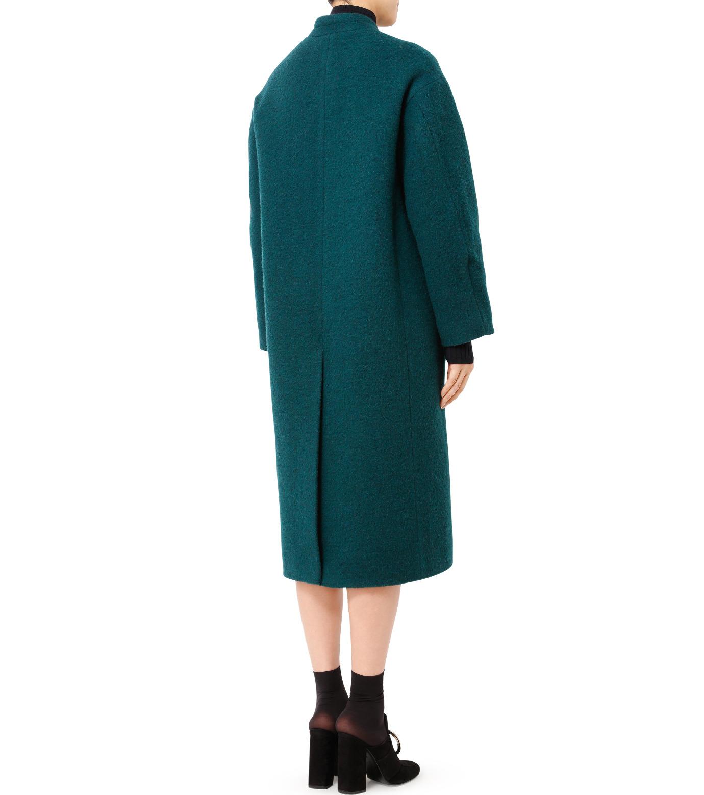 LE CIEL BLEU(ルシェルブルー)のバルーンビッグコート-GREEN(コート/coat)-18A69405 拡大詳細画像2