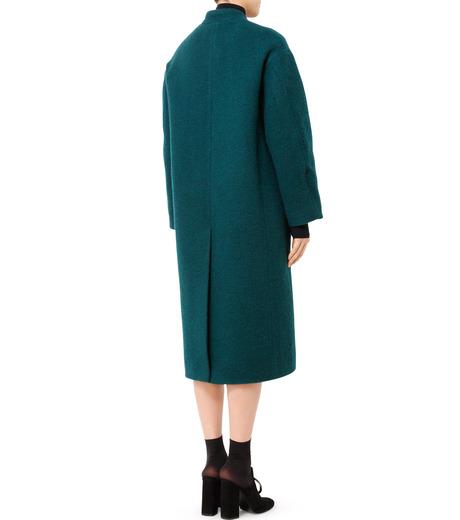 LE CIEL BLEU(ルシェルブルー)のバルーンビッグコート-GREEN(コート/coat)-18A69405 詳細画像2
