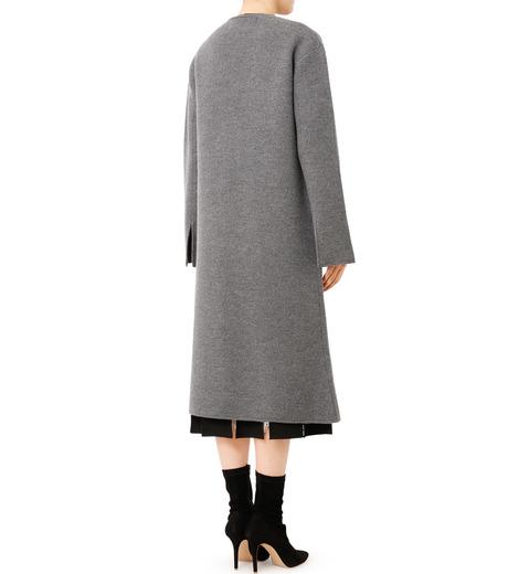 LE CIEL BLEU(ルシェルブルー)のニットコーディガン-GRAY(コート/coat)-18A69407 詳細画像2