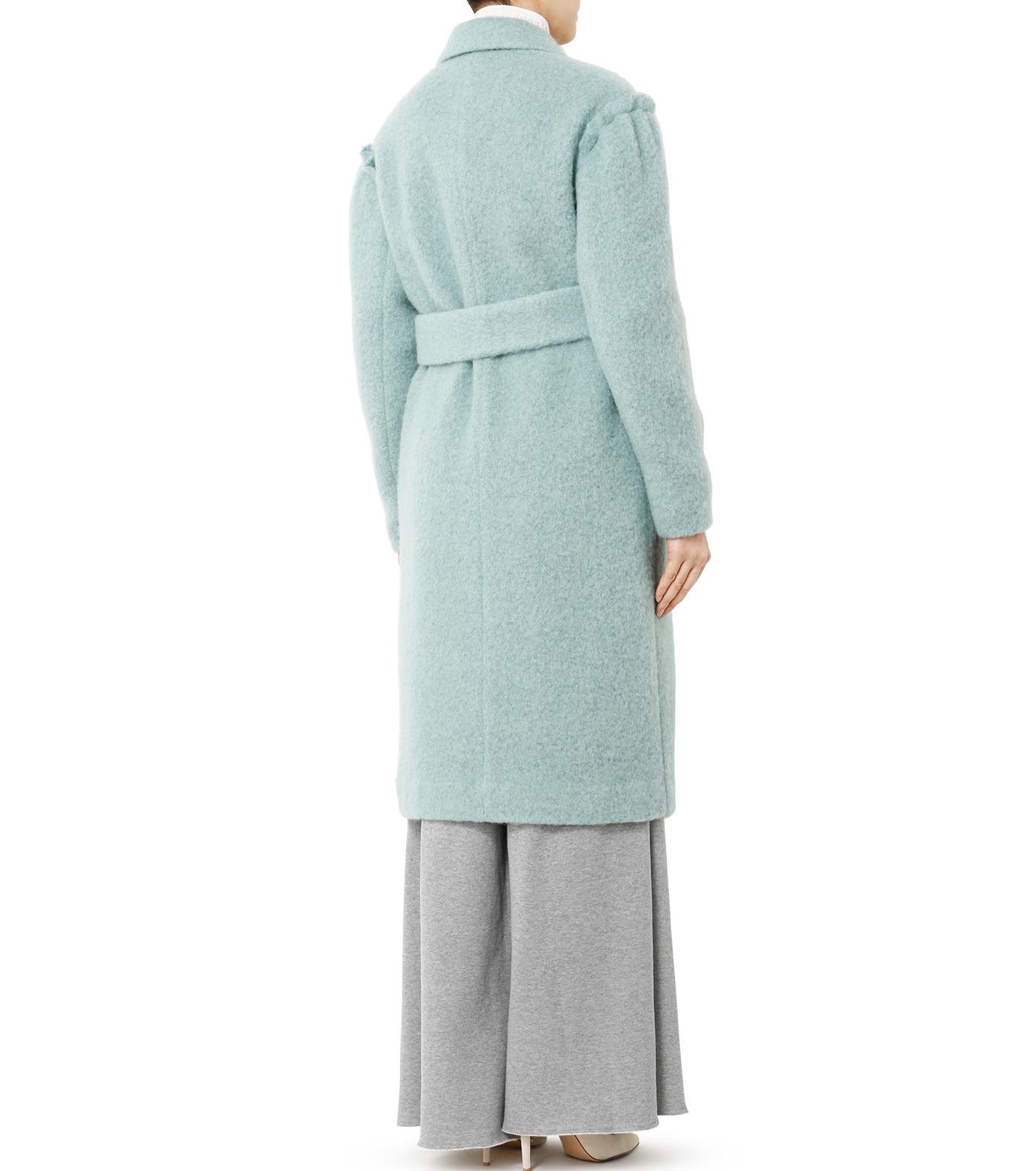 LE CIEL BLEU(ルシェルブルー)のローブシングルコート-LIGHT GREEN(コート/coat)-18A69615 拡大詳細画像2