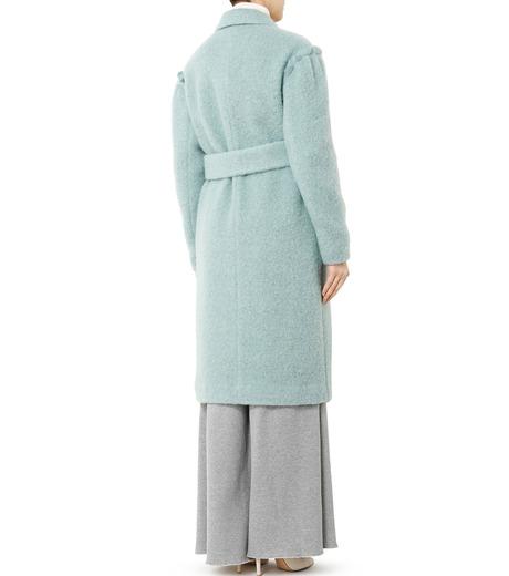 LE CIEL BLEU(ルシェルブルー)のローブシングルコート-LIGHT GREEN(コート/coat)-18A69615 詳細画像2