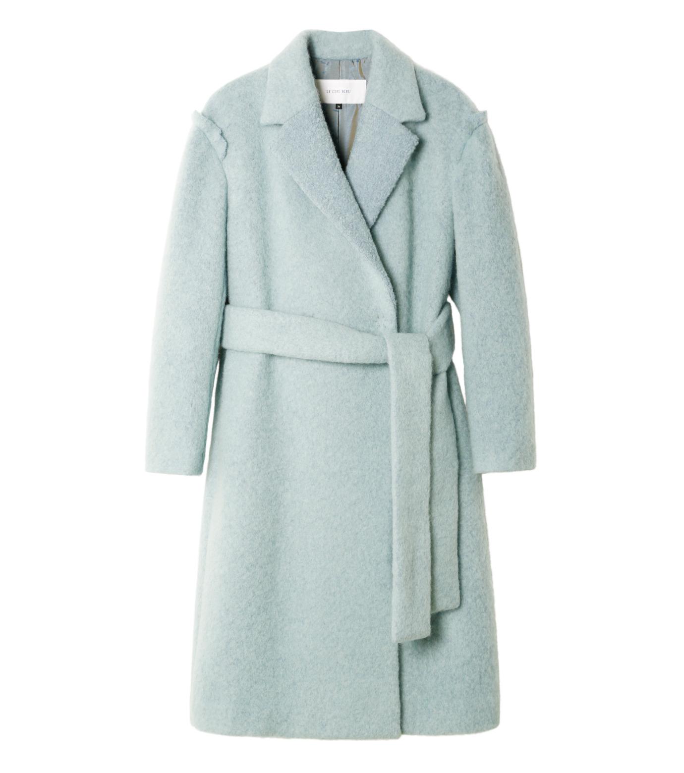 LE CIEL BLEU(ルシェルブルー)のローブシングルコート-LIGHT GREEN(コート/coat)-18A69615 拡大詳細画像4