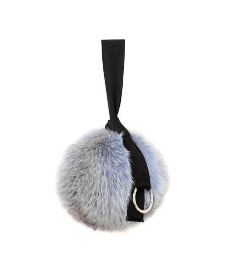 IRENE(アイレネ)のファーボールバッグ-LIGHT BLUE(アクセサリー/accessory)-18A80004 詳細画像2