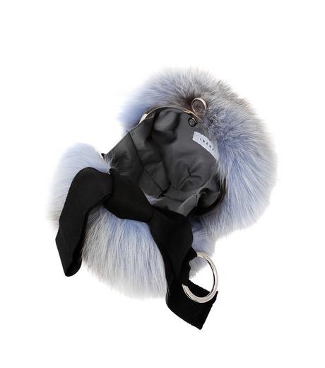 IRENE(アイレネ)のファーボールバッグ-LIGHT BLUE(アクセサリー/accessory)-18A80004 詳細画像3