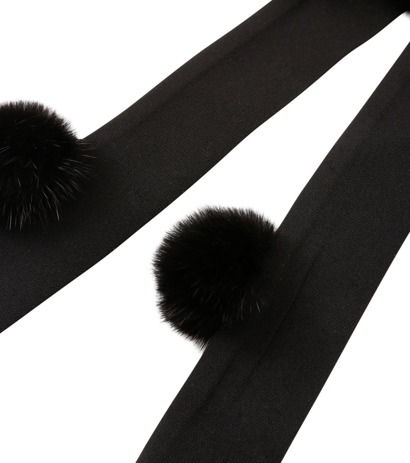 IRENE(アイレネ)のミンクボウ-BLACK(アクセサリー/accessory)-18A80015 拡大詳細画像3