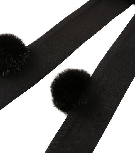 IRENE(アイレネ)のミンクボウ-BLACK(アクセサリー/accessory)-18A80015 詳細画像3