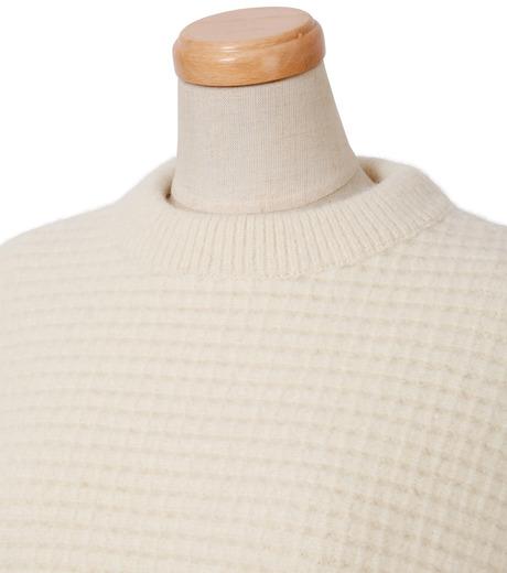 IRENE(アイレネ)のボイルワッフルニット-WHITE(ニット/knit)-18A81001 詳細画像4