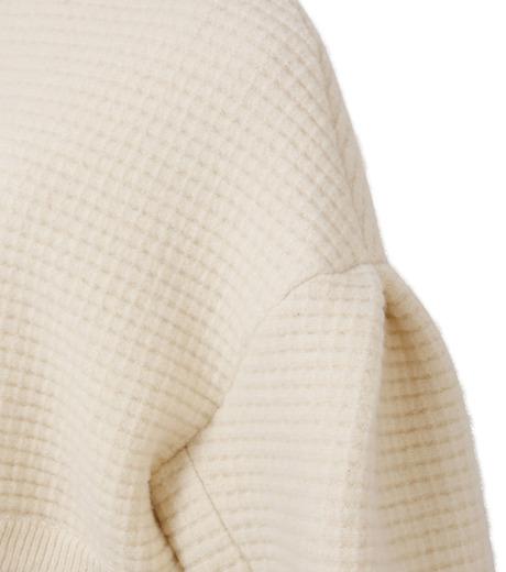 IRENE(アイレネ)のボイルワッフルニット-WHITE(ニット/knit)-18A81001 詳細画像5