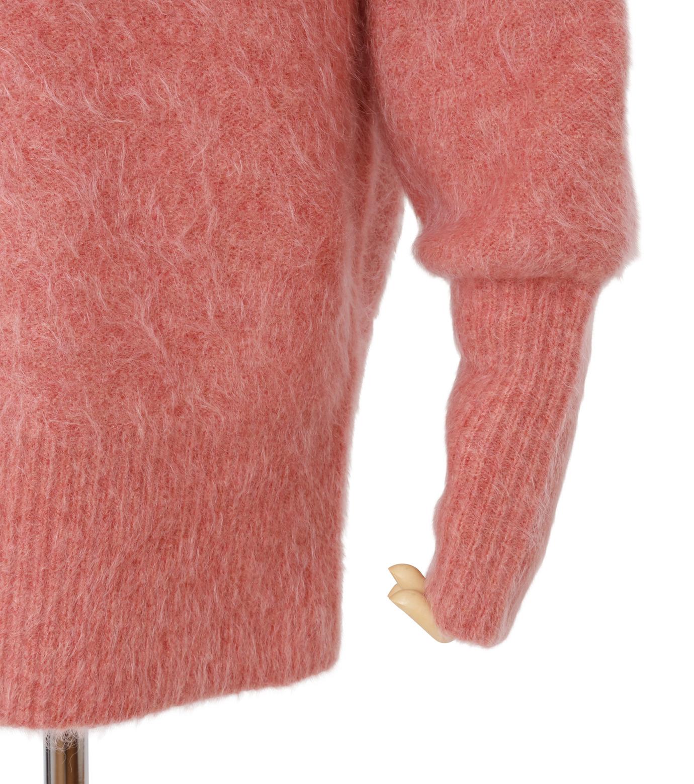 IRENE(アイレネ)のモヘアオフショルダーニット-SMOKE PINK(ニット/knit)-18A81003 拡大詳細画像5