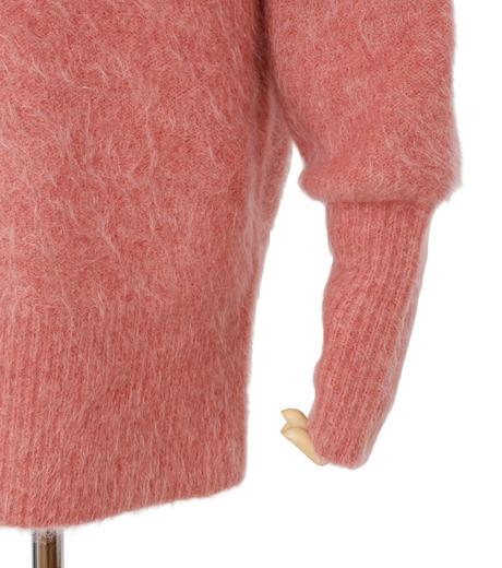 IRENE(アイレネ)のモヘアオフショルダーニット-SMOKE PINK(ニット/knit)-18A81003 詳細画像5