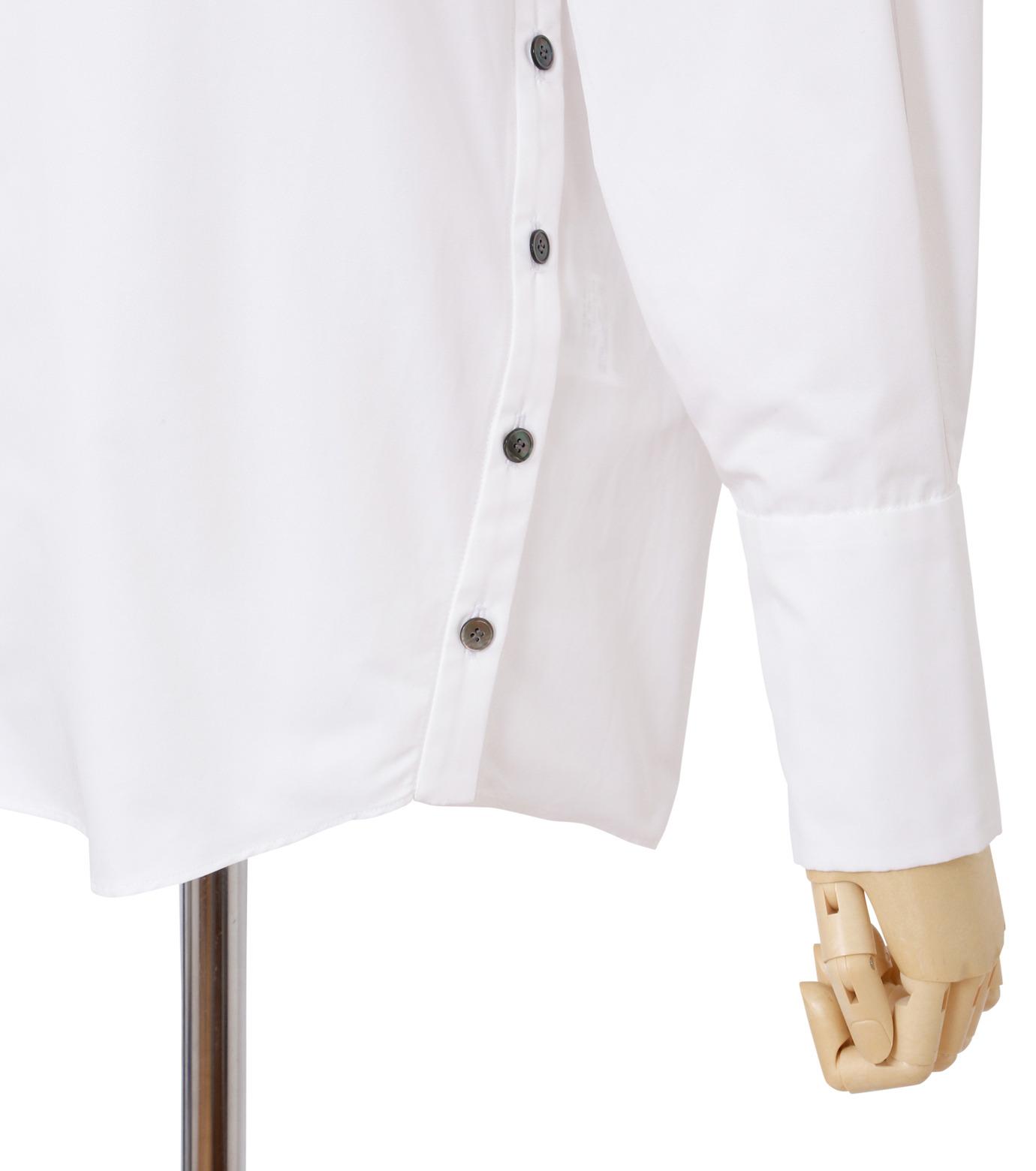 IRENE(アイレネ)のサイドウェイカラーシャツ-WHITE(シャツ/shirt)-18A83003 拡大詳細画像5