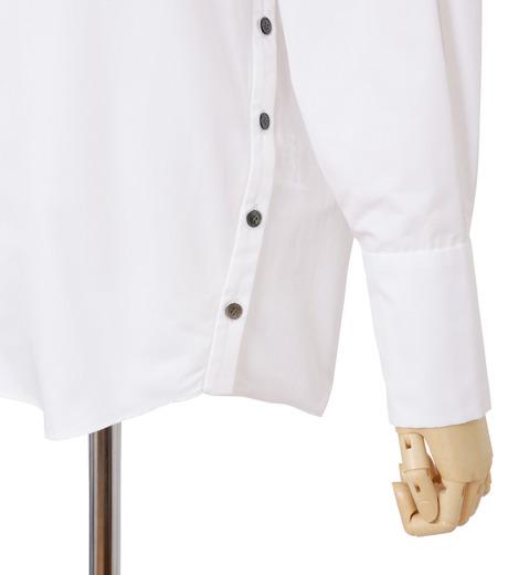 IRENE(アイレネ)のサイドウェイカラーシャツ-WHITE(シャツ/shirt)-18A83003 詳細画像5