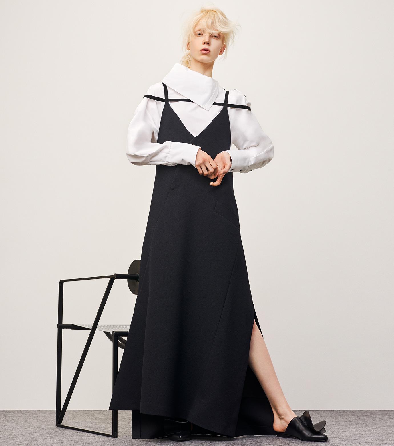 IRENE(アイレネ)のサイドウェイカラーシャツ-WHITE(シャツ/shirt)-18A83003 拡大詳細画像7