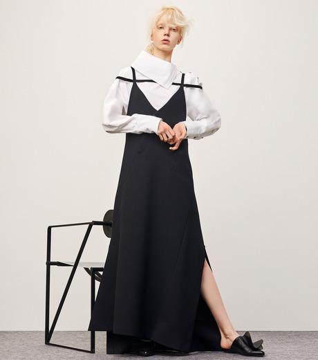IRENE(アイレネ)のサイドウェイカラーシャツ-WHITE(シャツ/shirt)-18A83003 詳細画像7