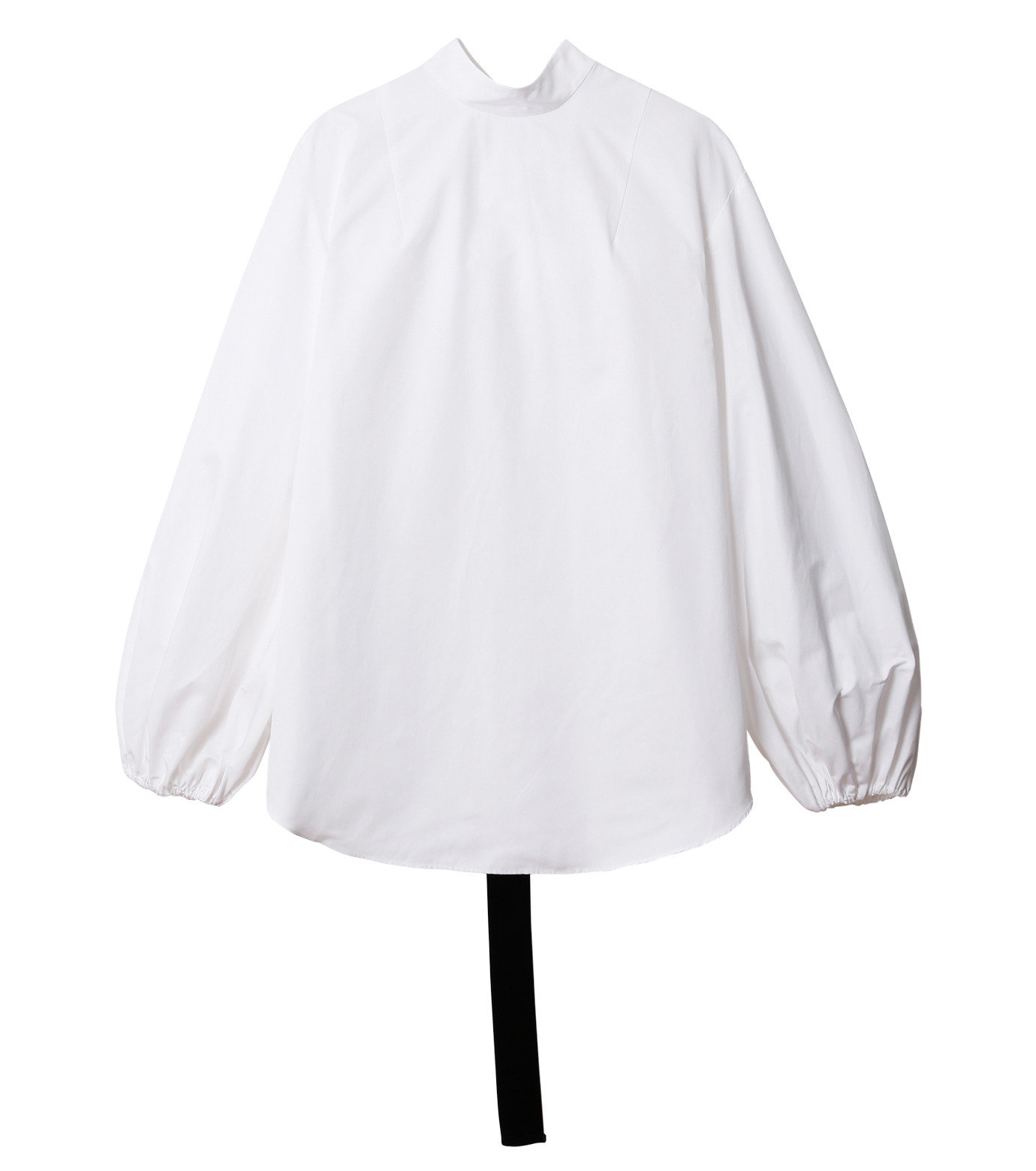 IRENE(アイレネ)のブァッファンスリーブトップス-WHITE(シャツ/shirt)-18A83004 拡大詳細画像7