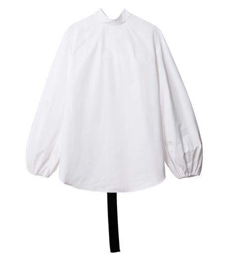 IRENE(アイレネ)のブァッファンスリーブトップス-WHITE(シャツ/shirt)-18A83004 詳細画像7