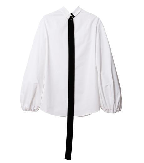 IRENE(アイレネ)のブァッファンスリーブトップス-WHITE(シャツ/shirt)-18A83004 詳細画像8
