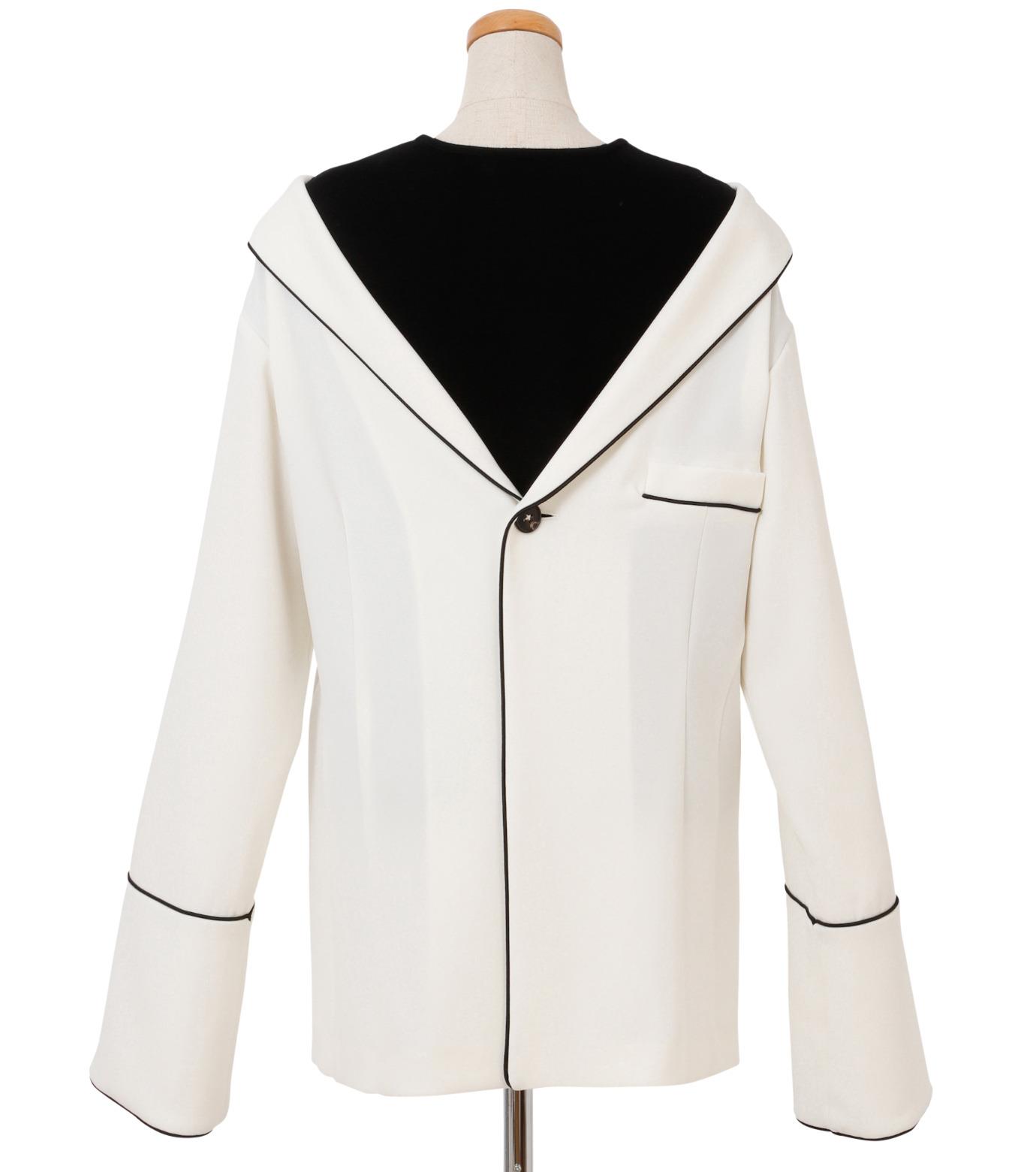 IRENE(アイレネ)のリバーサルスーツトップス-WHITE(シャツ/shirt)-18A83006 拡大詳細画像3