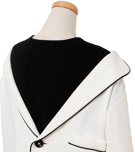 IRENE(アイレネ)のリバーサルスーツトップス-WHITE(シャツ/shirt)-18A83006 詳細画像4