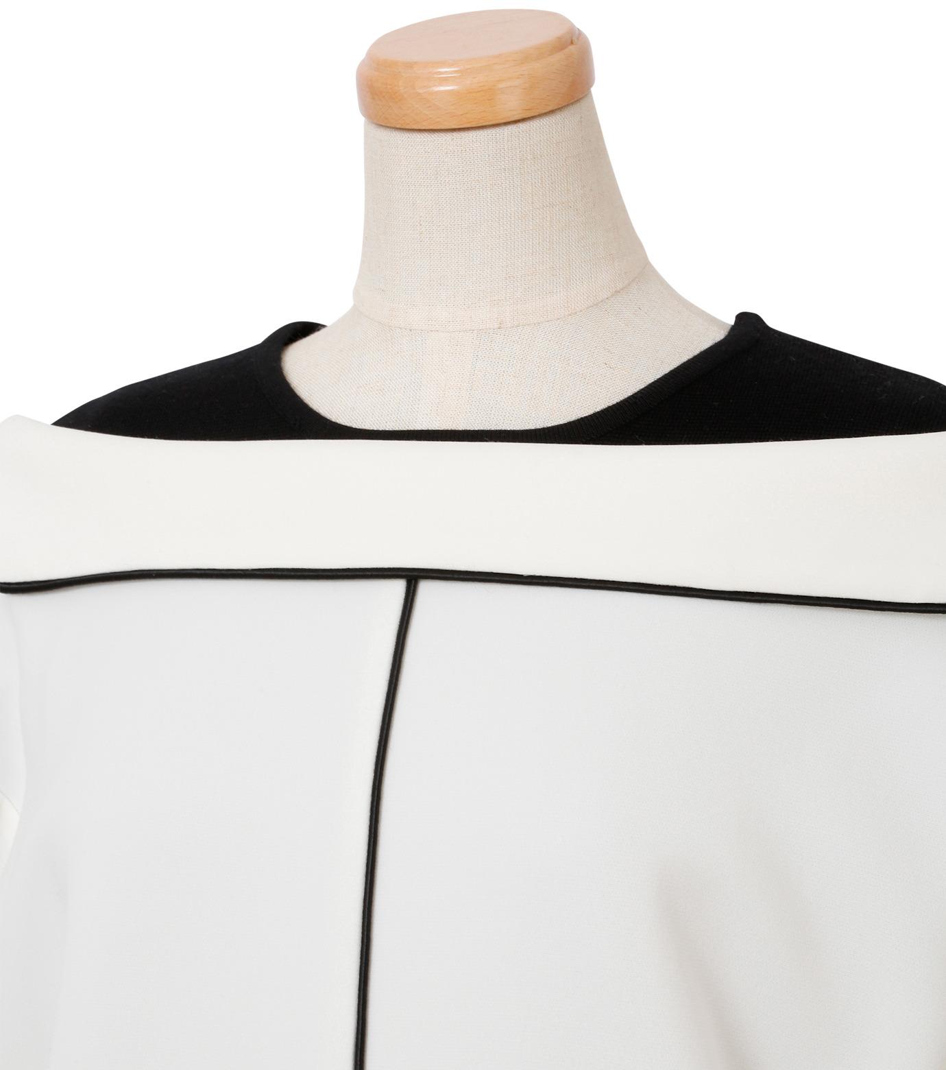 IRENE(アイレネ)のリバーサルスーツトップス-WHITE(シャツ/shirt)-18A83006 拡大詳細画像5