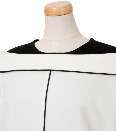 IRENE(アイレネ)のリバーサルスーツトップス-WHITE(シャツ/shirt)-18A83006 詳細画像5