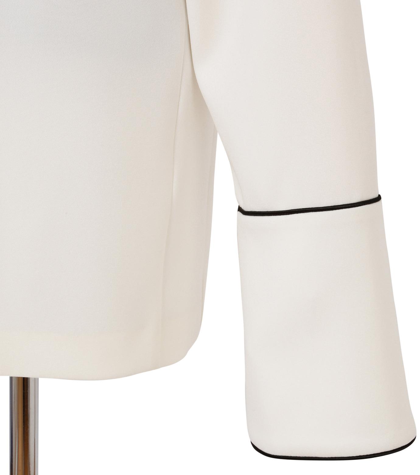 IRENE(アイレネ)のリバーサルスーツトップス-WHITE(シャツ/shirt)-18A83006 拡大詳細画像6