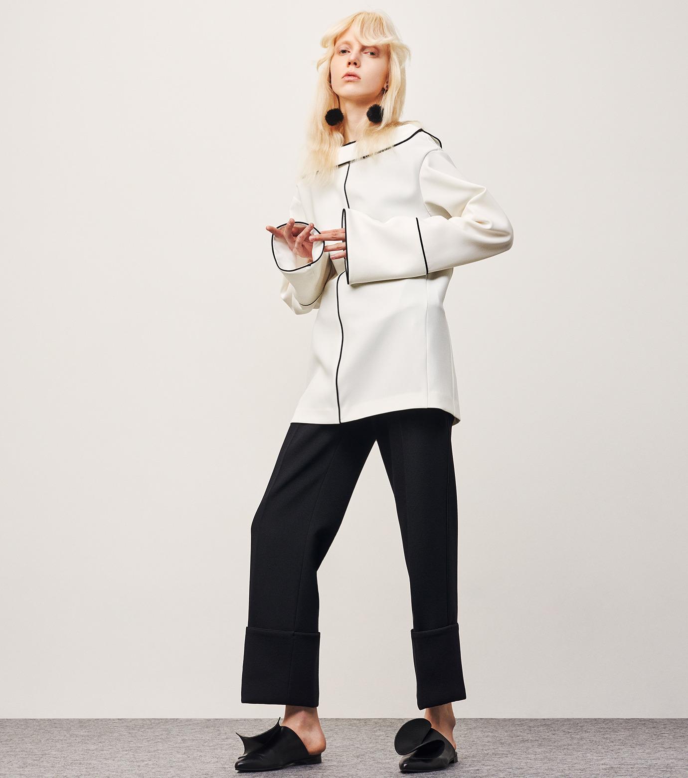 IRENE(アイレネ)のリバーサルスーツトップス-WHITE(シャツ/shirt)-18A83006 拡大詳細画像7