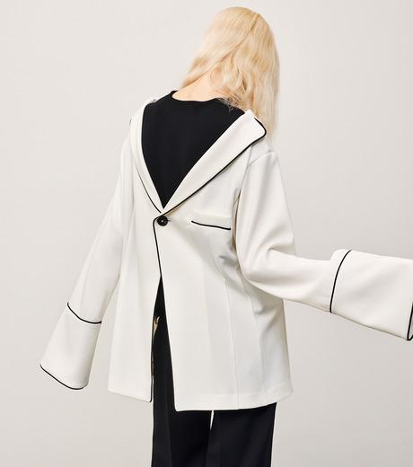 IRENE(アイレネ)のリバーサルスーツトップス-WHITE(シャツ/shirt)-18A83006 詳細画像8
