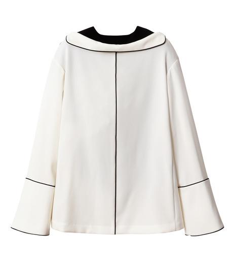 IRENE(アイレネ)のリバーサルスーツトップス-WHITE(シャツ/shirt)-18A83006 詳細画像9